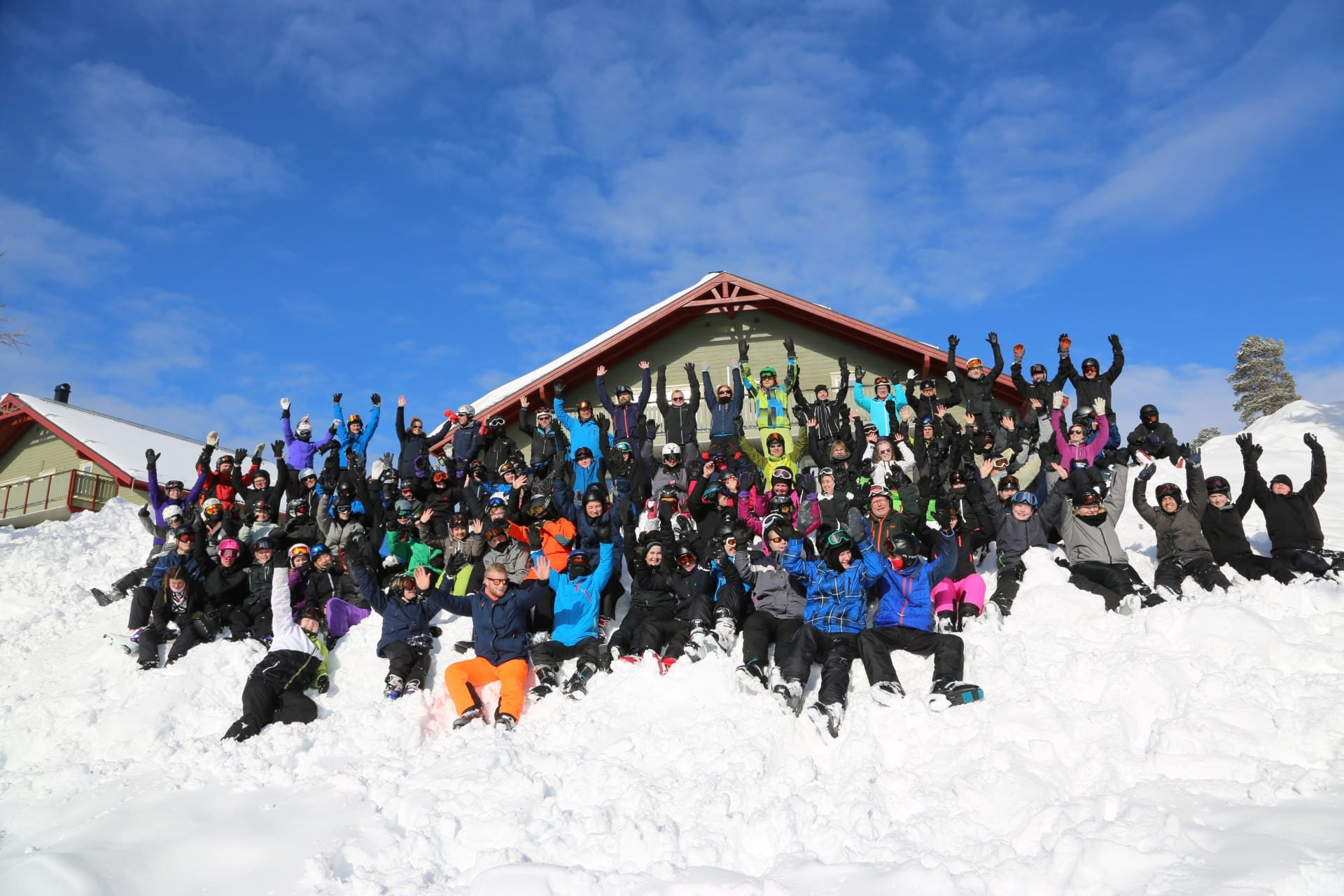Fenskær Efterskole skitur